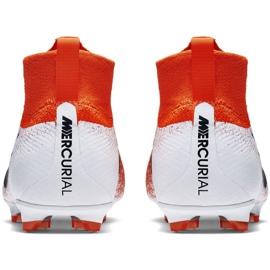 Labdarúgás cipő Nike Mercurial Superfly 6 Elite Fg Jr AH7340-801 piros sokszínű 4