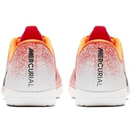 Beltéri cipő Nike Mercurial Vapor X 12 Academy Ic Jr AJ3101-801 fehér, narancs narancs 4