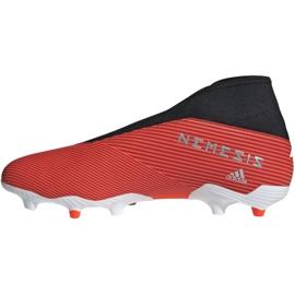 Foci csizma adidas Nemeziz 19.3 Ll Fg M F99997 piros piros 2