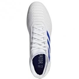 Adidas Predator 19.3 Ag M D97943 futballcipő fehér fehér 1