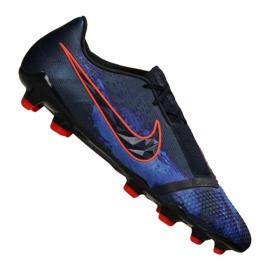 Labdarúgás cipő Nike Phantom Vnm Elite Fg M AO7540-440 fekete sokszínű 2