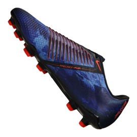 Labdarúgás cipő Nike Phantom Vnm Elite Fg M AO7540-440 fekete sokszínű 3