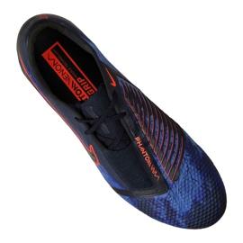 Labdarúgás cipő Nike Phantom Vnm Elite Fg M AO7540-440 fekete sokszínű 7
