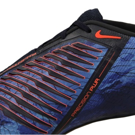 Labdarúgás cipő Nike Phantom Vnm Elite Fg M AO7540-440 fekete sokszínű 9