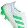 Adidas Copa 19.1 Fg M BB9186 futballcipő fehér fehér 1