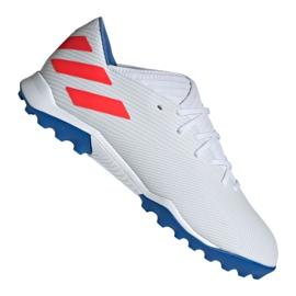 Adidas Nemeziz Messi futballcipő 19.3 Tf M F34430 fehér fehér 2
