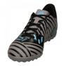 Adidas Nemeziz Messi Tango Tf M CP9071 futballcipő fekete fekete, kék, szürke / ezüst 3