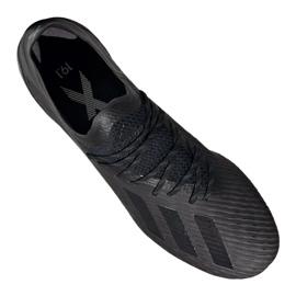 Foci cipő adidas X 19.1 Fg M F35314 fekete fekete 3