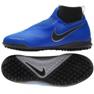 Nike Phantom Vsn Academy Df Tf Jr AO3292-400 foci cipő kék kék 1