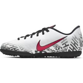 Nike Mercurial Neymar Vapor 12 Club Tf Jr AV4764-170 futballcipő fehér fehér 1