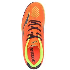 Futballcipő Joma Champion 908 Tf JR CHAJW.908.TF fekete, többszínű narancs 3