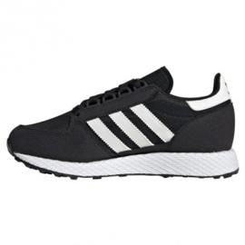 Adidas Originals Forest Grove Jr EE6557 cipő fekete 1