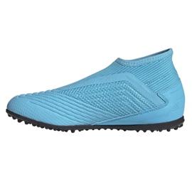 Adidas Predator 19.3 Ll Tf Jr EF9041 futballcipő kék kék 1