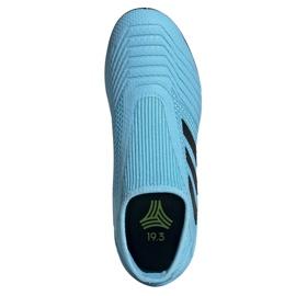 Adidas Predator 19.3 Ll Tf Jr EF9041 futballcipő kék kék 2