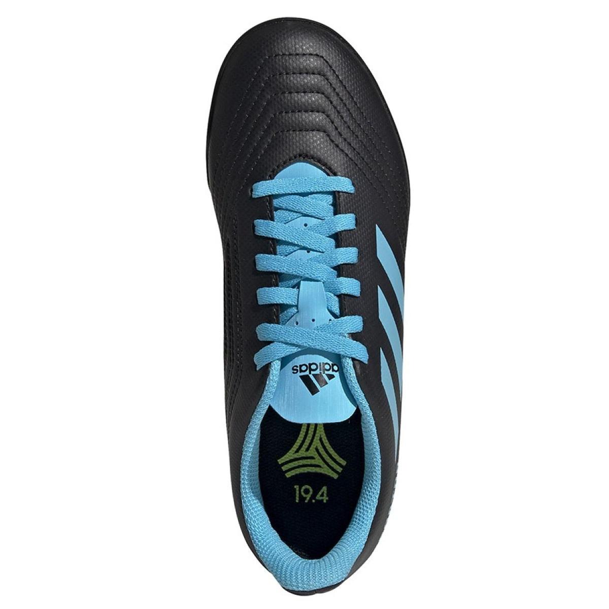 Adidas Predator 19.4 Tf Jr G25826 futballcipő fekete fekete