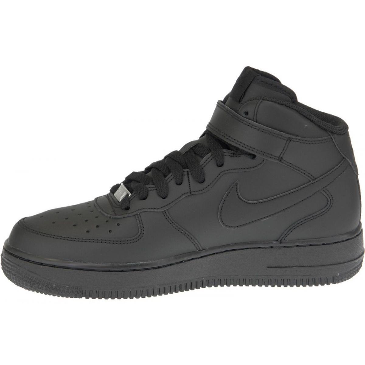 Cipő Nike Air Force 1 Mid Gs W 314195 004 fekete
