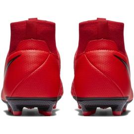 Labdarúgás cipő Nike Phantom Vsn Academy Df FG / MG Jr AO3287-600 piros piros 4