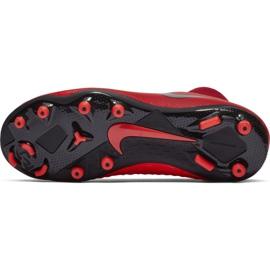Labdarúgás cipő Nike Phantom Vsn Academy Df FG / MG Jr AO3287-600 piros piros 6
