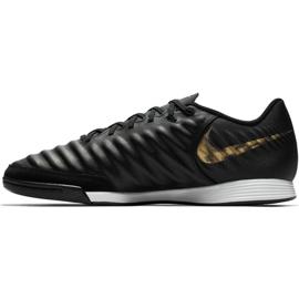 Beltéri cipő Nike Tiempo Legend 7 Academy Ic M AH7244-077 fekete fekete 1