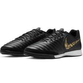 Beltéri cipő Nike Tiempo Legend 7 Academy Ic M AH7244-077 fekete fekete 5