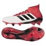 Adidas Predator 18.1 Fg M CM7410 futballcipő fehér fehér 3