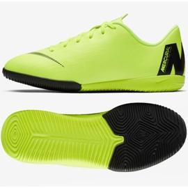 Nike Mercurial VaporX 12 Academy Gs Ic Jr AJ3101 701 zöld cipő 3