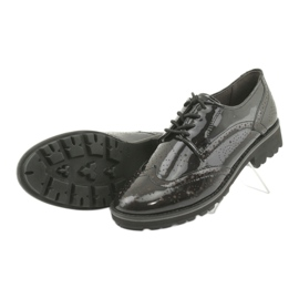 Csipkés cipő Oxford Caprice 23701 5