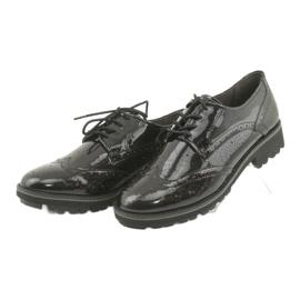 Csipkés cipő Oxford Caprice 23701 3