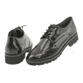Csipkés cipő Oxford Caprice 23701 4
