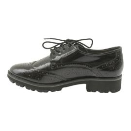 Csipkés cipő Oxford Caprice 23701 2