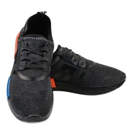 Fekete MD01A-6 sportcipő 3