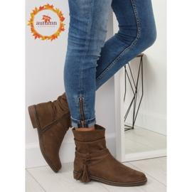 Barna női cipő 4169 Khaki 1