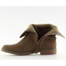 Barna női cipő 4169 Khaki 3