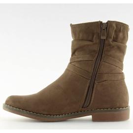 Barna női cipő 4169 Khaki 6