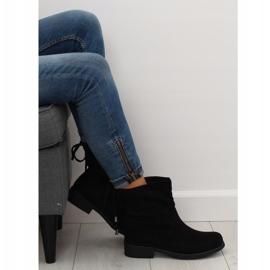 Női cipő fekete 7378-PA Fekete 5
