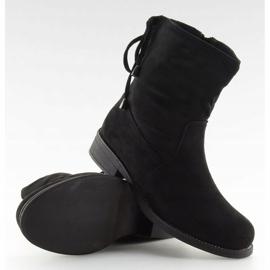 Női cipő fekete 7378-PA Fekete 3