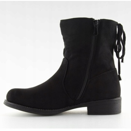 Női cipő fekete 7378-PA Fekete 4