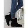 Női cipő fekete 7378-PA Fekete kép 1