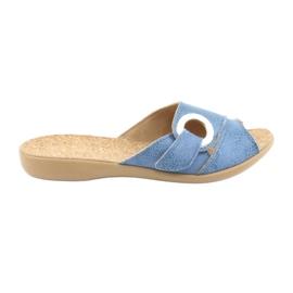 Befado női cipő pu 265D015 kék 1