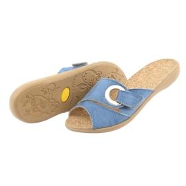 Befado női cipő pu 265D015 kék 5