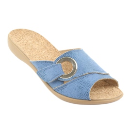 Befado női cipő pu 265D015 kék 2
