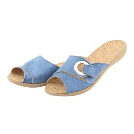 Befado női cipő pu 265D015 kék 4