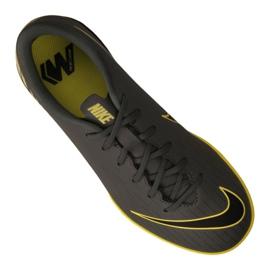 Nike Jr VaporX 12 Academy Gs Ic Jr AJ3101-070 beltéri cipő szürke szürke / ezüst 3