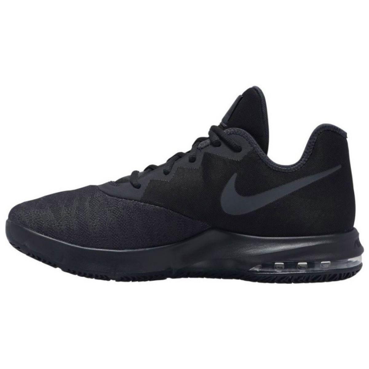 Nike Air Max Infuriate Iii alacsony WM AJ5898 007 cipő fekete