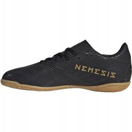 Adidas Nemeziz 19.4. Jr EG3314 futballcipő fekete fekete 2