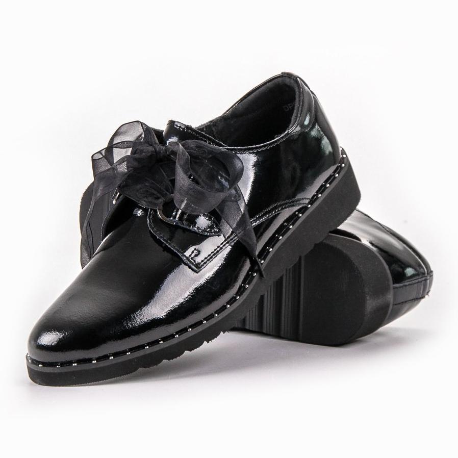 Filippo Fekete lakkozott cipő ButyModne.pl