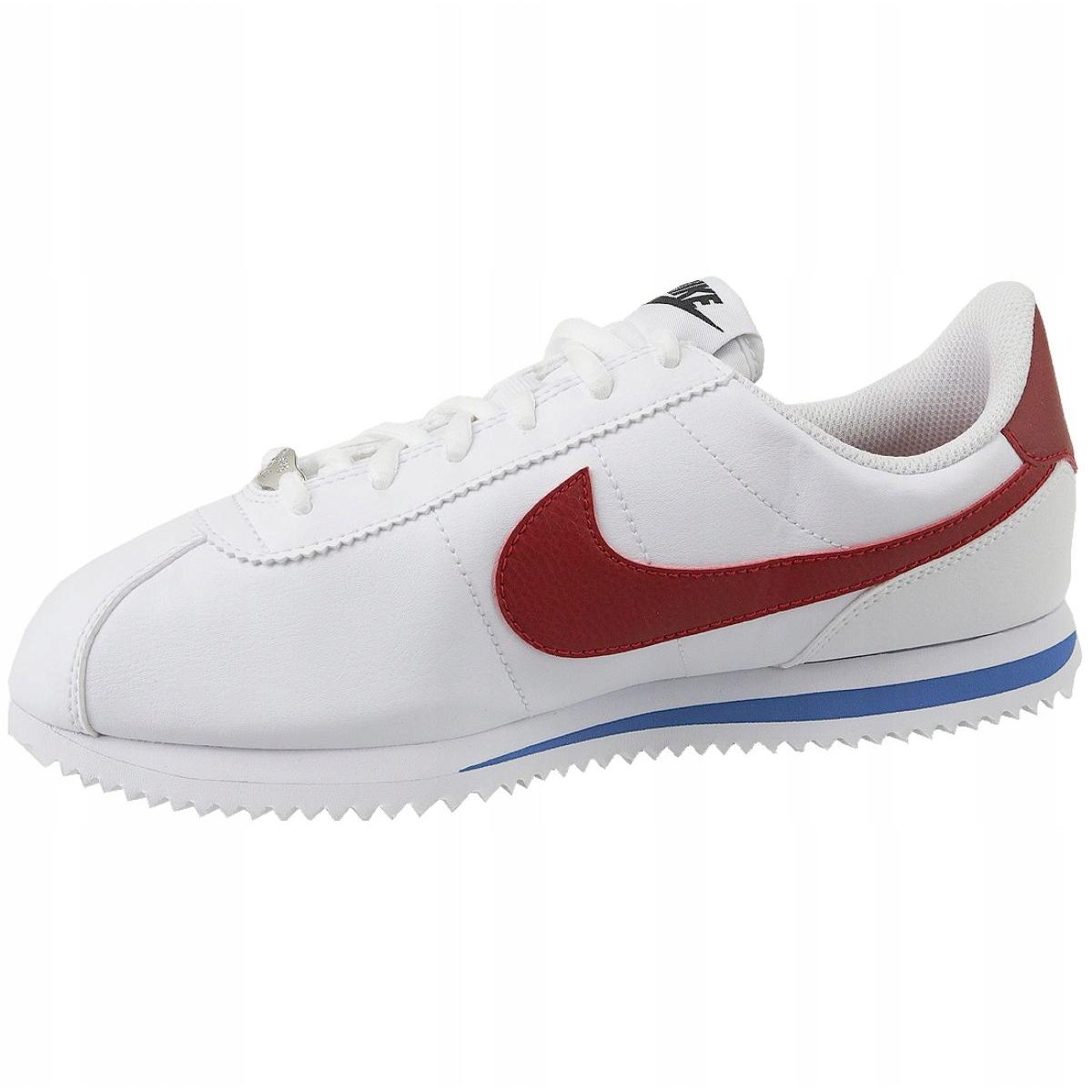 Nike Cortez Basic Sl Gs Jr 904764 103 cipő fehér