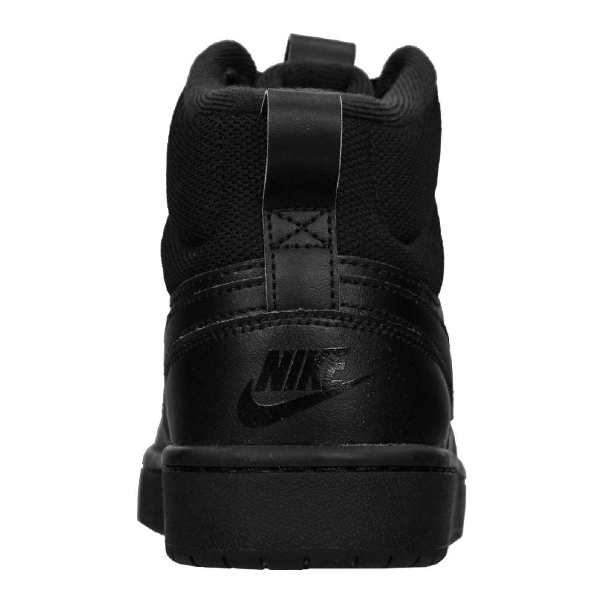 Cipő NIKE Court Borough Mid 2 Boot (Gs) BQ5440 001 Black