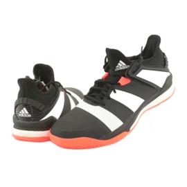 Adidas Stabil XM G26421 cipő fekete 4