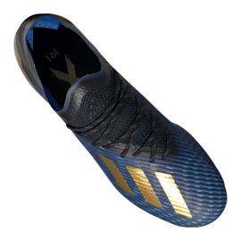 Adidas X 19.1 Fg M F35313 sötétkék 4